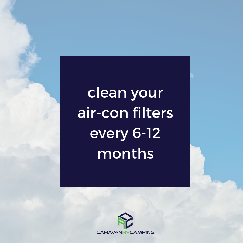 We cleaning the filters in your aircon every 6
