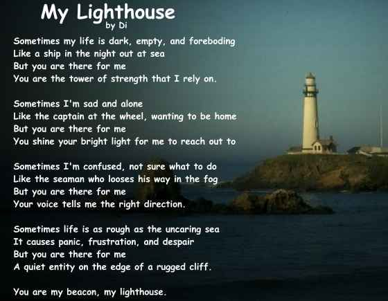 My Lighthouse Poem Beautiful Lighthouses Pinterest Faroles