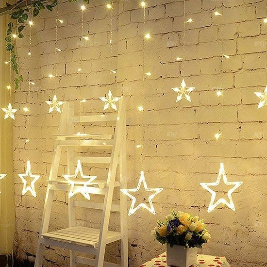 Pin On Led Star Curtain Lighting