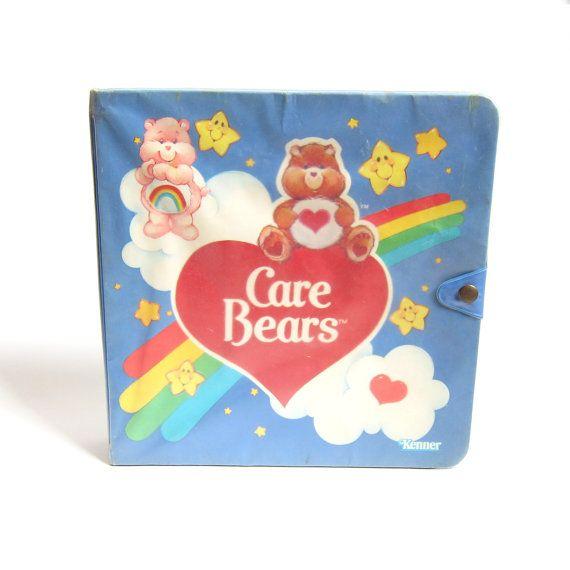 Care Bears romanesque Play boîtier Miniature Vintage stockage & affichage livre pour jouets