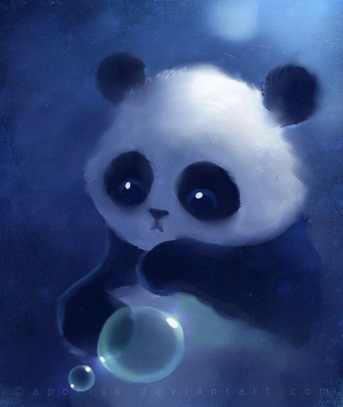 Pin By Jayne Lm On Art Illustration And Graphics Panda Art Cute Panda Wallpaper Cute Drawings Anime wallpaper iphone panda