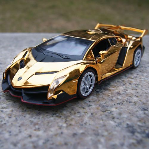 Lamborghini Veneno Alloy Diecast Model Cars 1 32 Toys Gifts Golden Yellow Plat View More On The Link H Lamborghini Veneno Lamborghini Diecast Model Cars