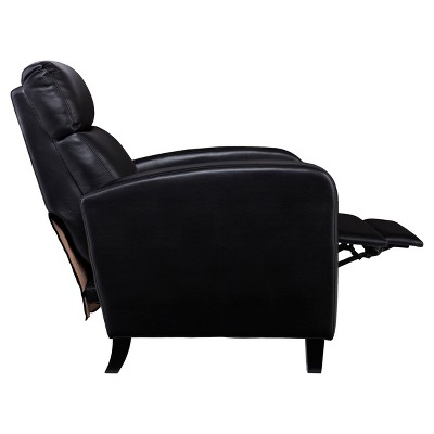 Swell Benzon Faux Leather Two Step Recliner Black Aiden Lane Dailytribune Chair Design For Home Dailytribuneorg