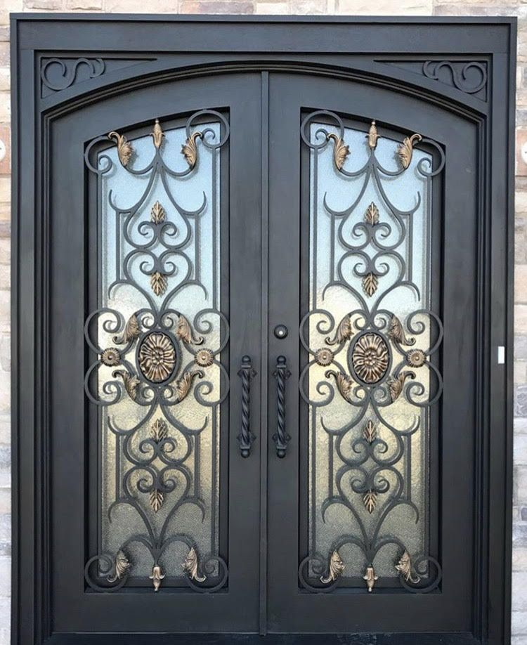 Seguridad Wrought Iron Doors Front Entrances Iron Doors Iron Front Door