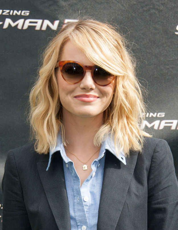 Emma Stone Hair Styles Medium Hair Styles Short Hair Styles