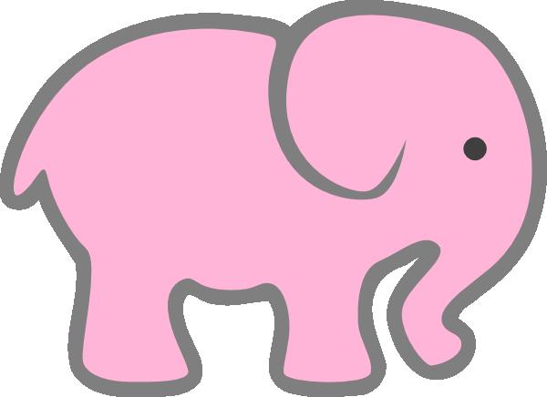 free+elephant+stencils | Blue Baby Elephant clip art - vector clip ...