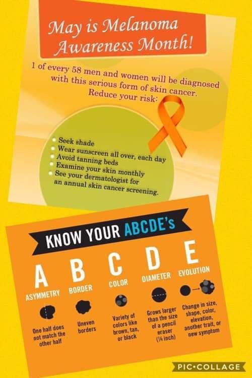 Pin on Get NakedMelanoma/Skin Cancer Awareness