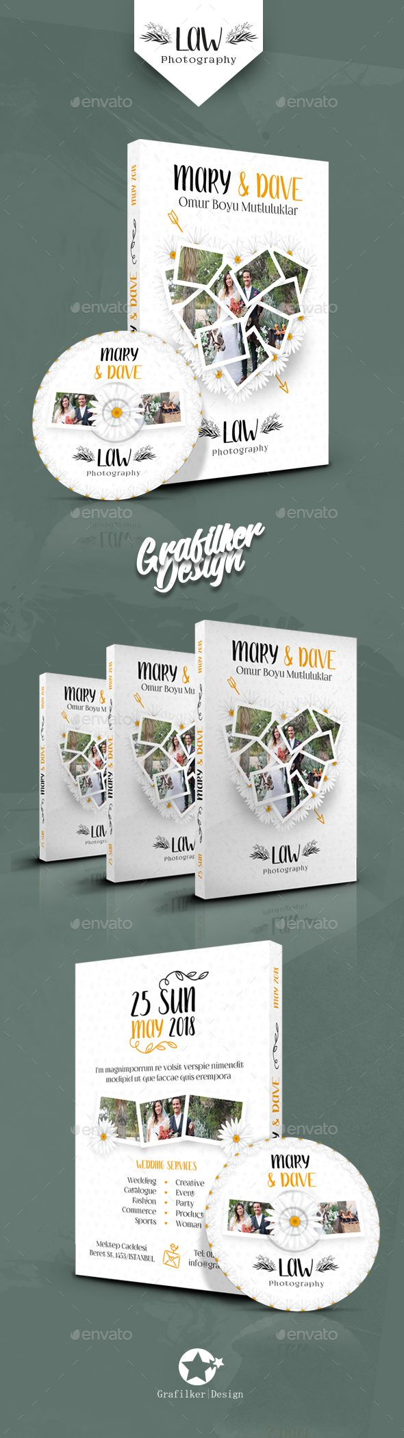 Wedding Dvd Cover Templates | Template, Font logo and Logos
