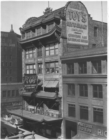 Charlie Toy S Restaurant Was On The Second Floor Of His