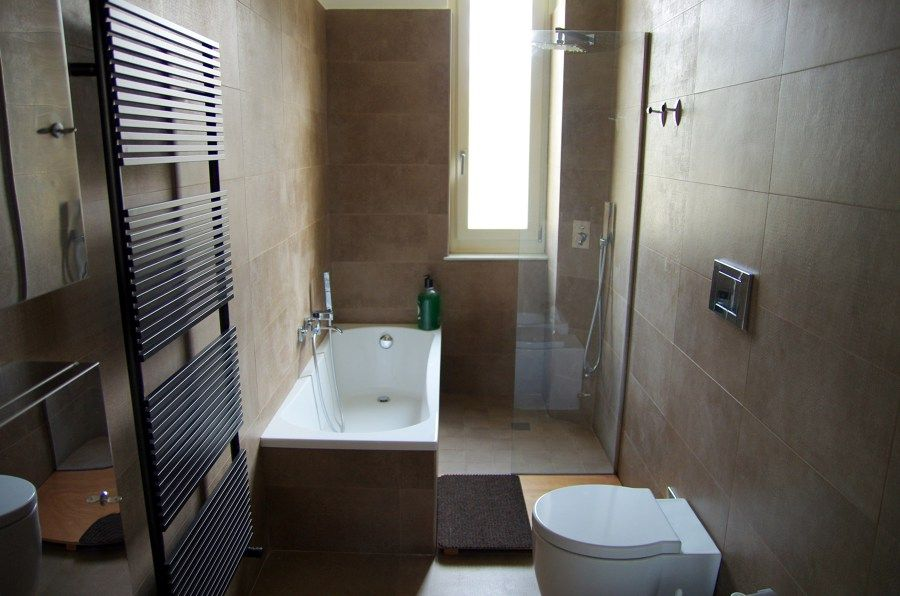Rifacimento bagno con doccia e vasca kupatilo pinterest - Bagno piccolo con doccia ...