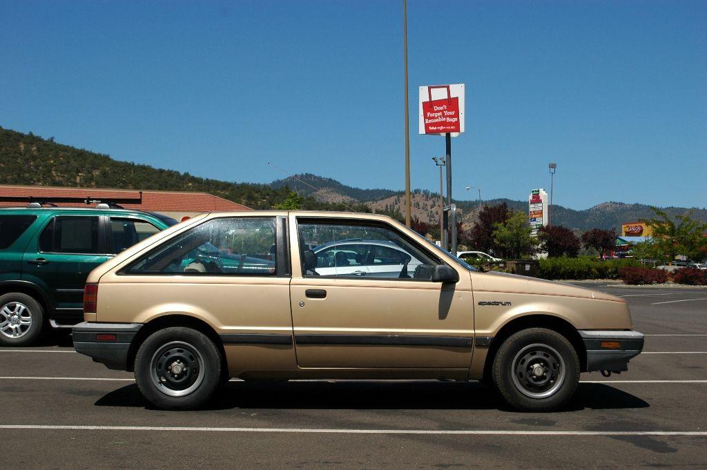 1985 chevrolet spectrum | 1986 Chevrolet Spectrum 2-door hatchback ...