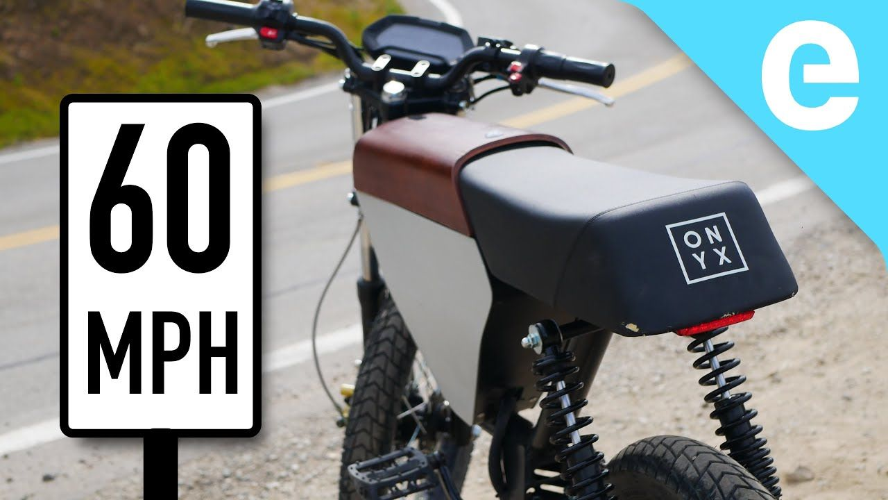 First Ride Onyx Rcr 60 Mph Electric Moped In 2020 Electric Moped Moped Electric Motorbike