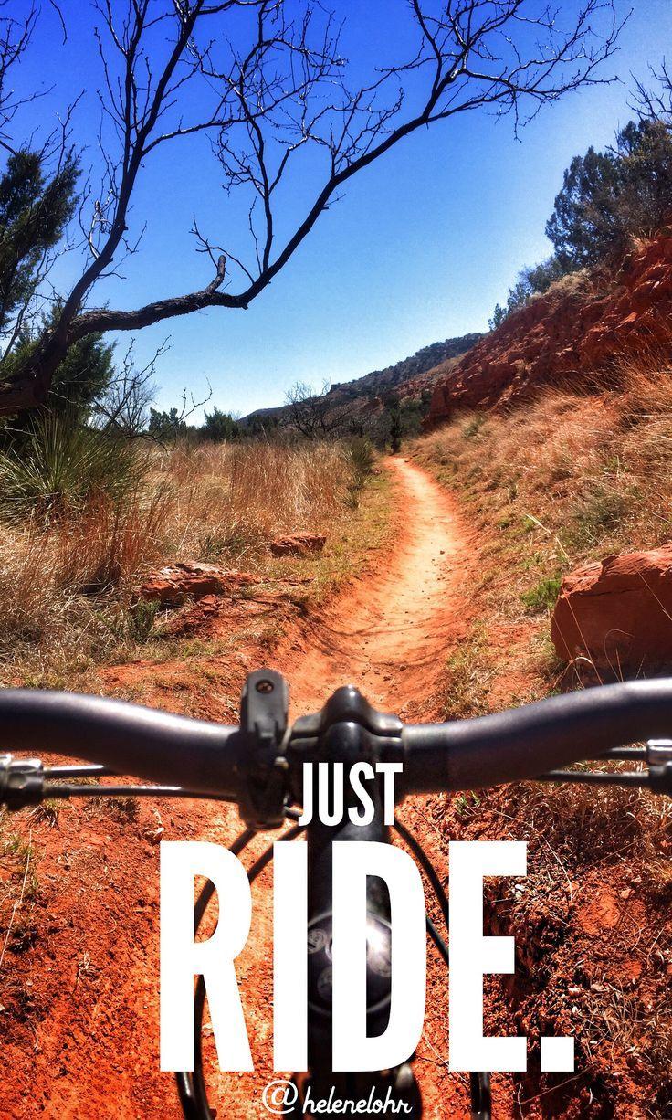 Just Ride Mountain Biking Trail Riding Adventure Mountain