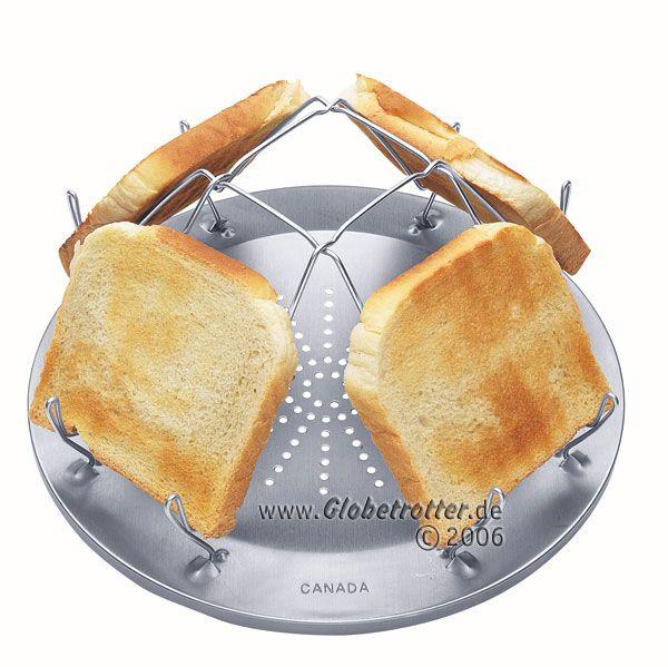 Toast unter freiem Himmel und ohne Strom? Klar geht das! #Globetrotter hat die Lösung gefunden.