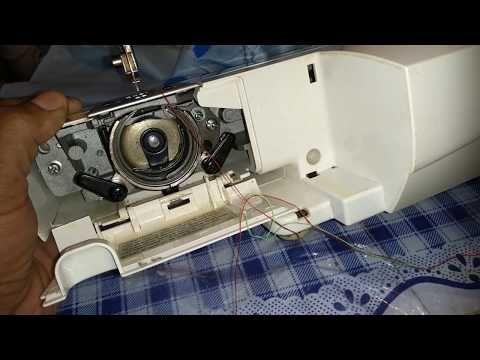 como arreglar la maquina de coser cuando enreda el hilo