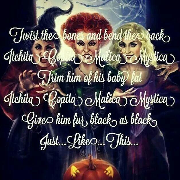 Image result for hocus pocus quotes