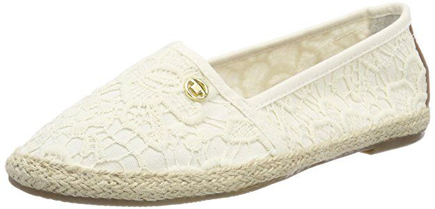 Schuhregal Flach Tom Tailor Damen 4892013 Espadrilles, Beige (cream