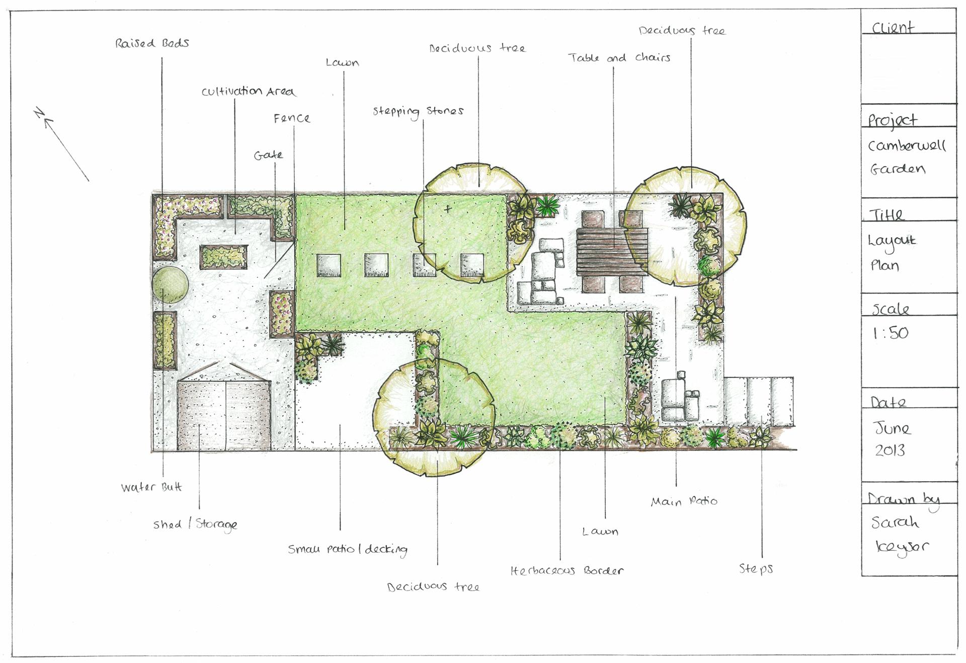 Coucou Design Small London Garden City Garden Town Garden Green And White Low Maintenance Garden Garden Design Garde Garden Design London Garden Design