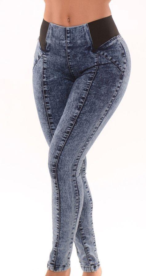 Pantalon Jeans De Moda Pantalones De Moda Pantalones De Moda Mujer