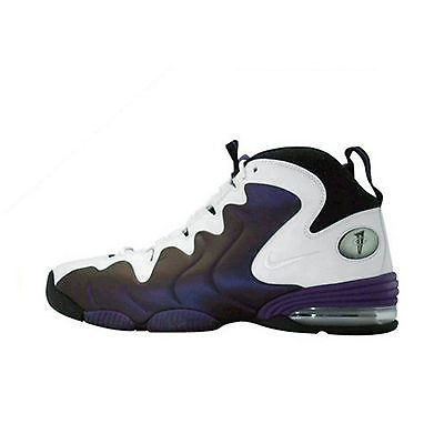 official photos b808f 70601 Nike Air Penny 3 Gs Big Kids 344987-102 Purple Basketbal Shoes Youth Size 5