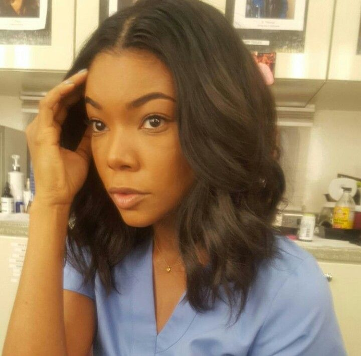 b912bc7ef0d Gabrielle Union | Buns and Updo's in 2019 | Hair styles, Hair, Short ...