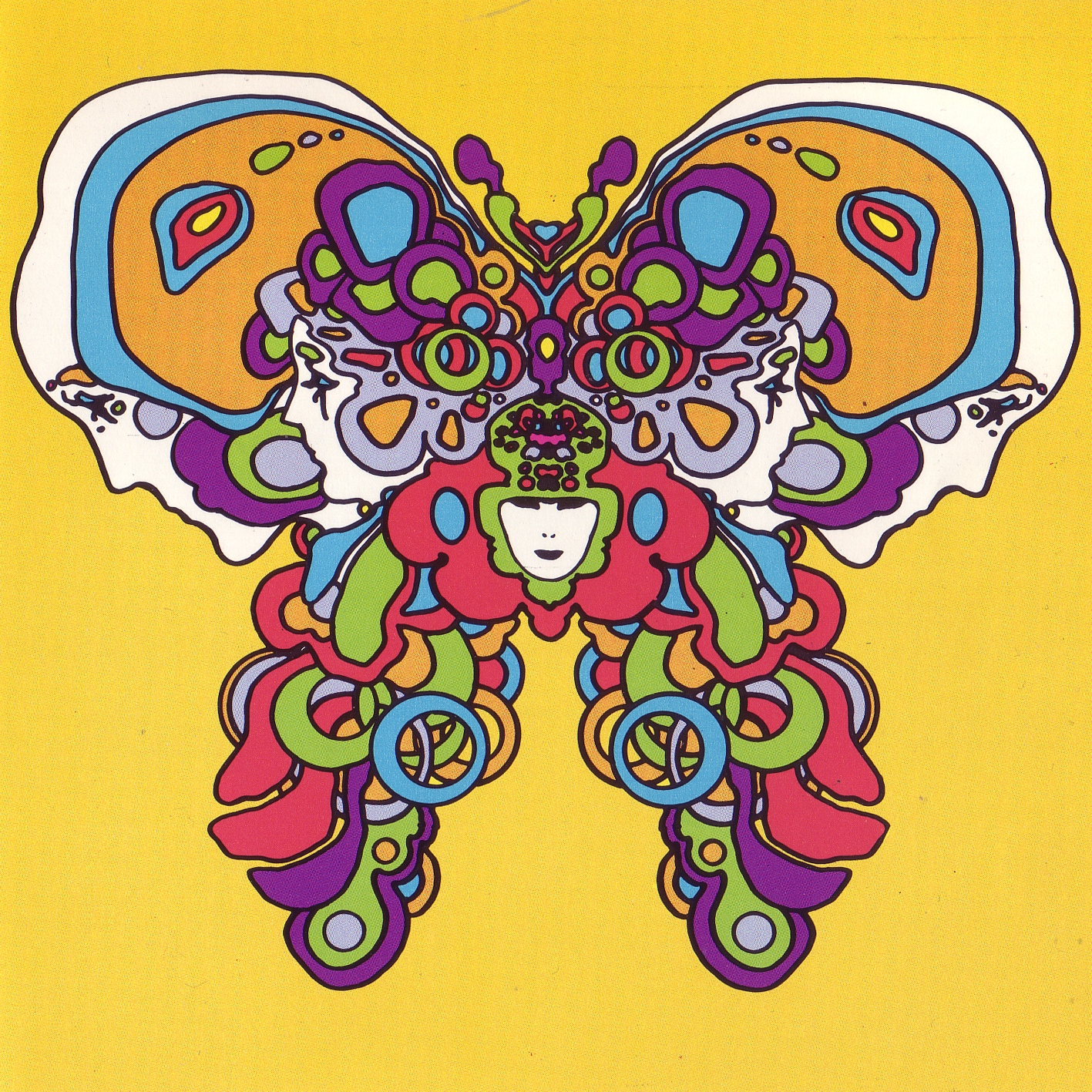 Pinturas Hippies Illustration By Peter Max 1970 Hippie Pinterest