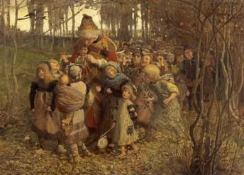 The Pied Piper of Hamelin (Dated 1881) by James Elder Christie