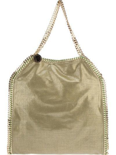 a57bd16309 Large Falabella Shoulder Bag - Lyst Green Bag