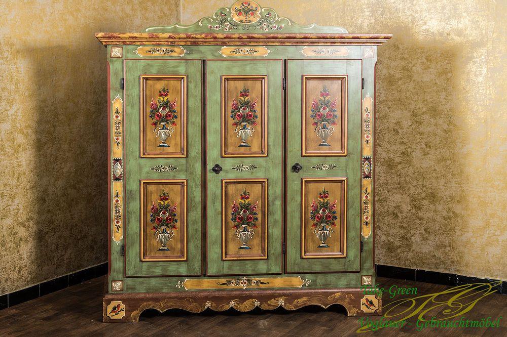 details zu voglauer anno 1800 bauernschrank kleiderschrank dielenschrank landhaus schrank. Black Bedroom Furniture Sets. Home Design Ideas
