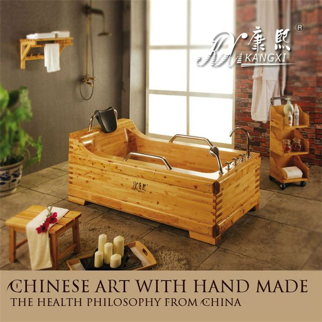 Wholesale High quality inflatable bathtub adult wooden portable bath ...