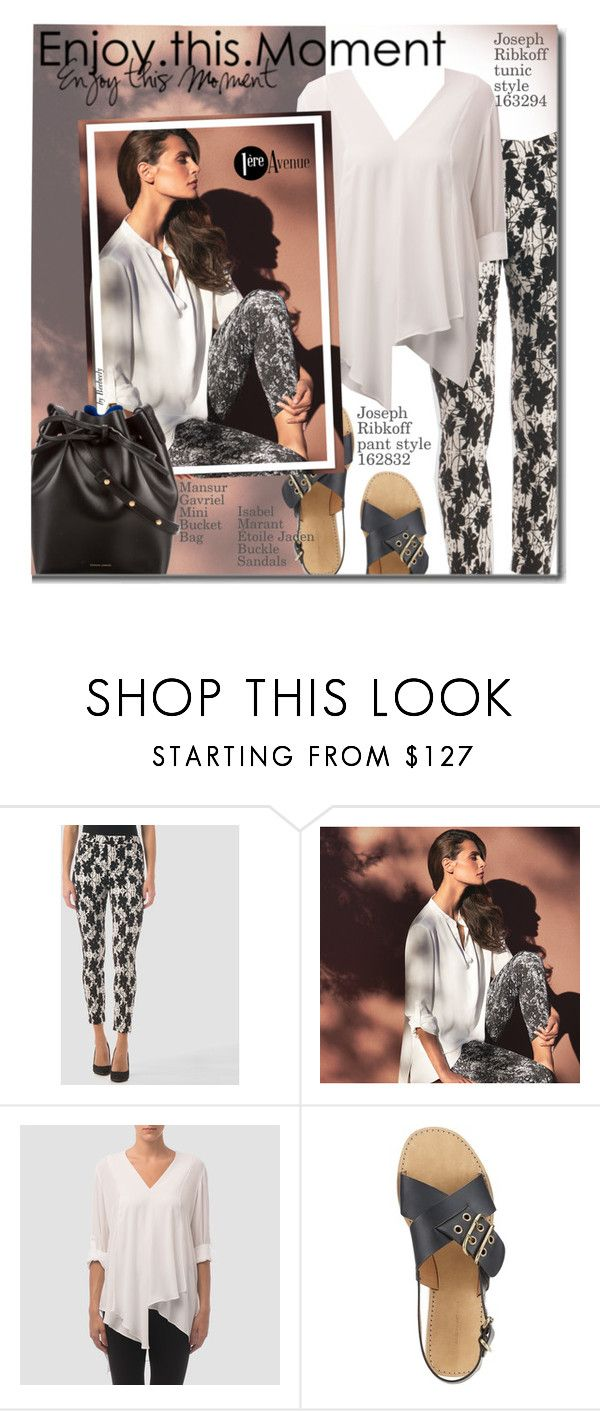 """""""Casual"""" by beebeely-look ❤ liked on Polyvore featuring Joseph Ribkoff, Étoile Isabel Marant, Mansur Gavriel, country, casual, casualoutfit, premiereavenue and JosephRibkoff"""