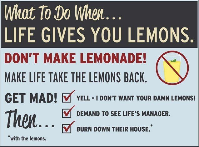What To Do When Life Gives You Lemons Funny Quotes Aperture Science Lemon Quotes