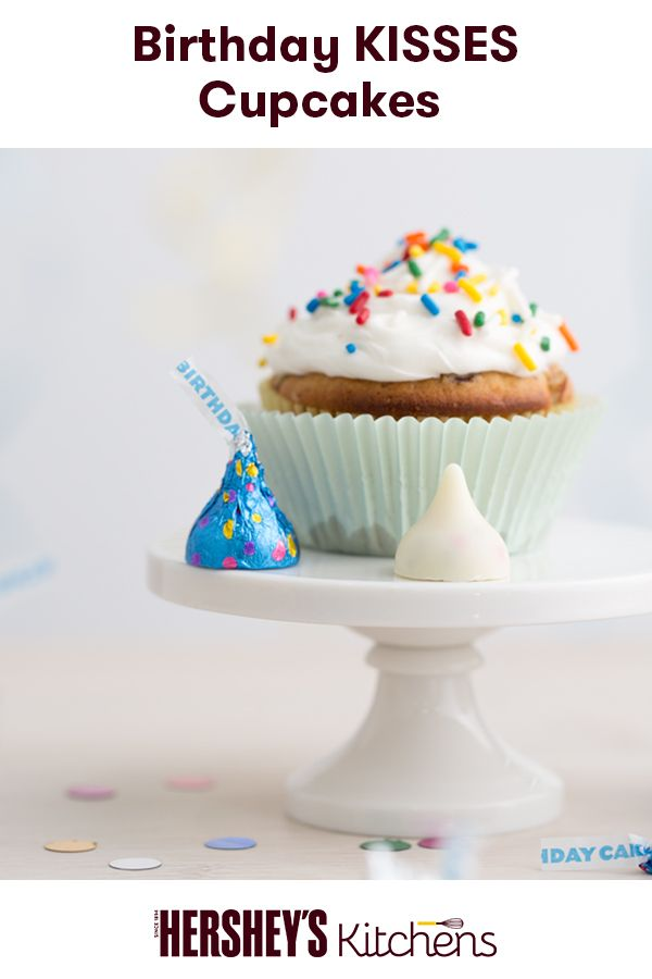 Make Someones Birthday Special With Birthday Kisses Cupcakes This