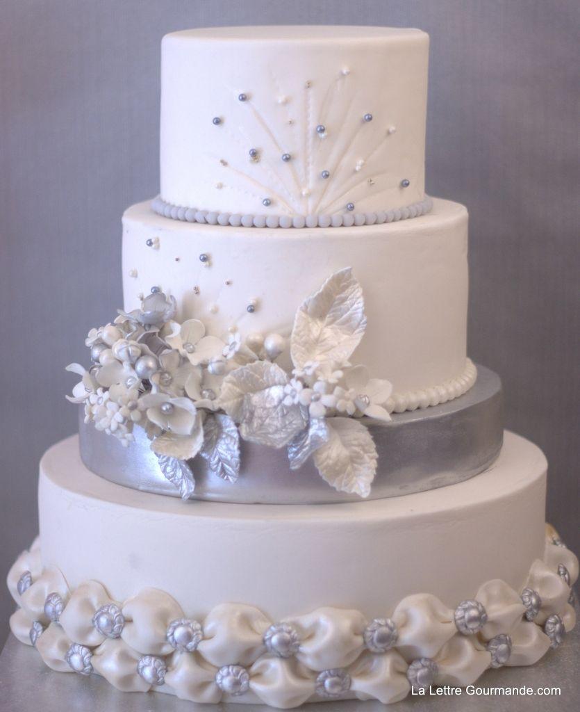 épinglé Sur Gâteau Mariage Blanc