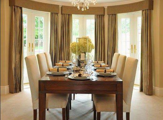 8 Curtain Ideas For Dining Room, Dining Room Curtain Ideas Photos