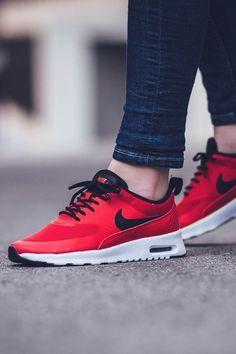official photos f8111 107b5 Nice Kicks    Red Nike Air Max Thea.