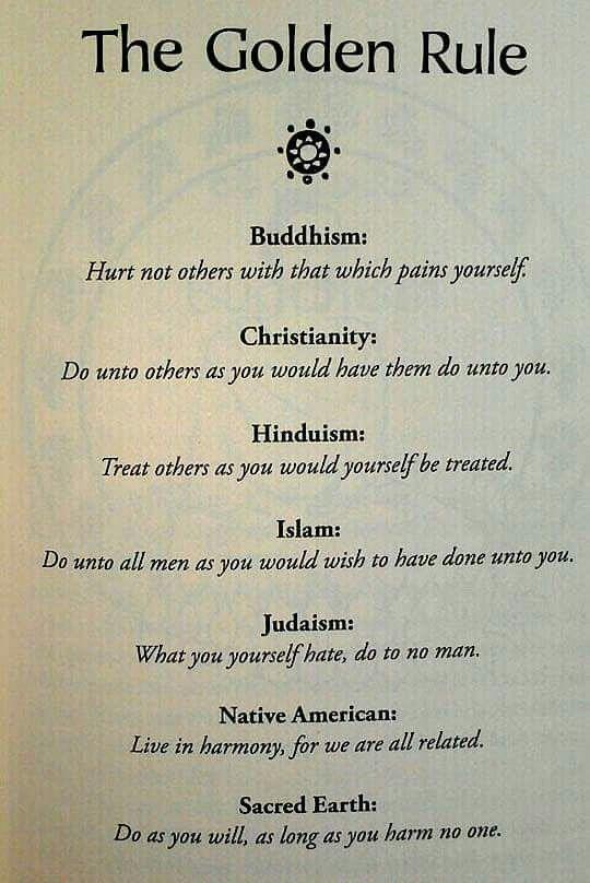 Golden Rule Quotations