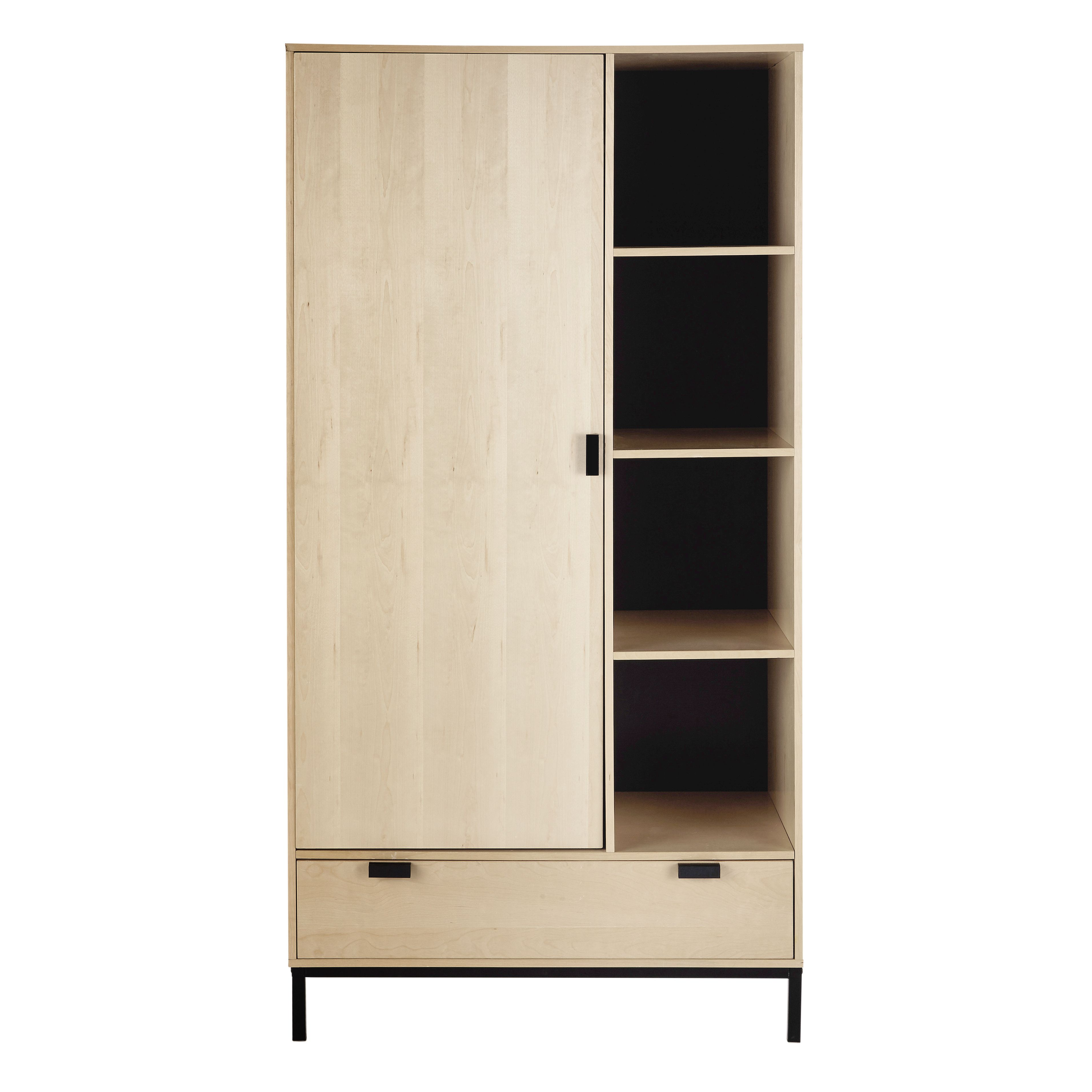 Schrank B 98 Cm Graphik Armoire Tall Cabinet Storage Home Collections