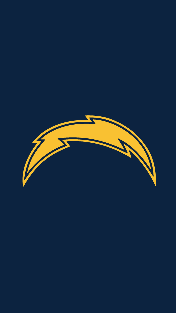 Minimalistic Nfl Backgrounds Afc West Chargers Nfl Nfl La