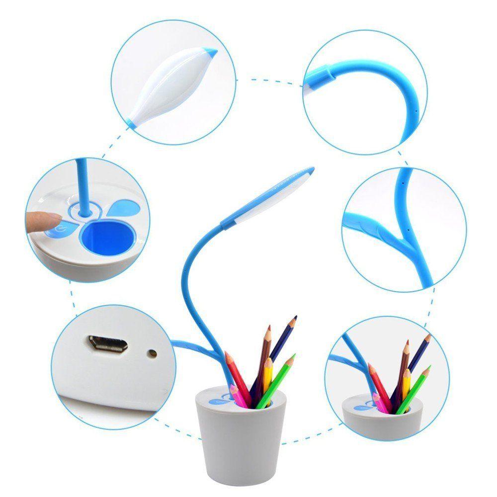 sapling pen holder desk lamp Online Shopping -