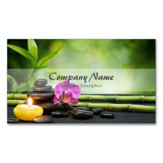 Bamboo candle stone orchid spa massage therapy business card bamboo candle stone orchid spa massage therapy business card fbccfo Choice Image