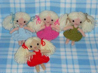 free pattern of crochet doll