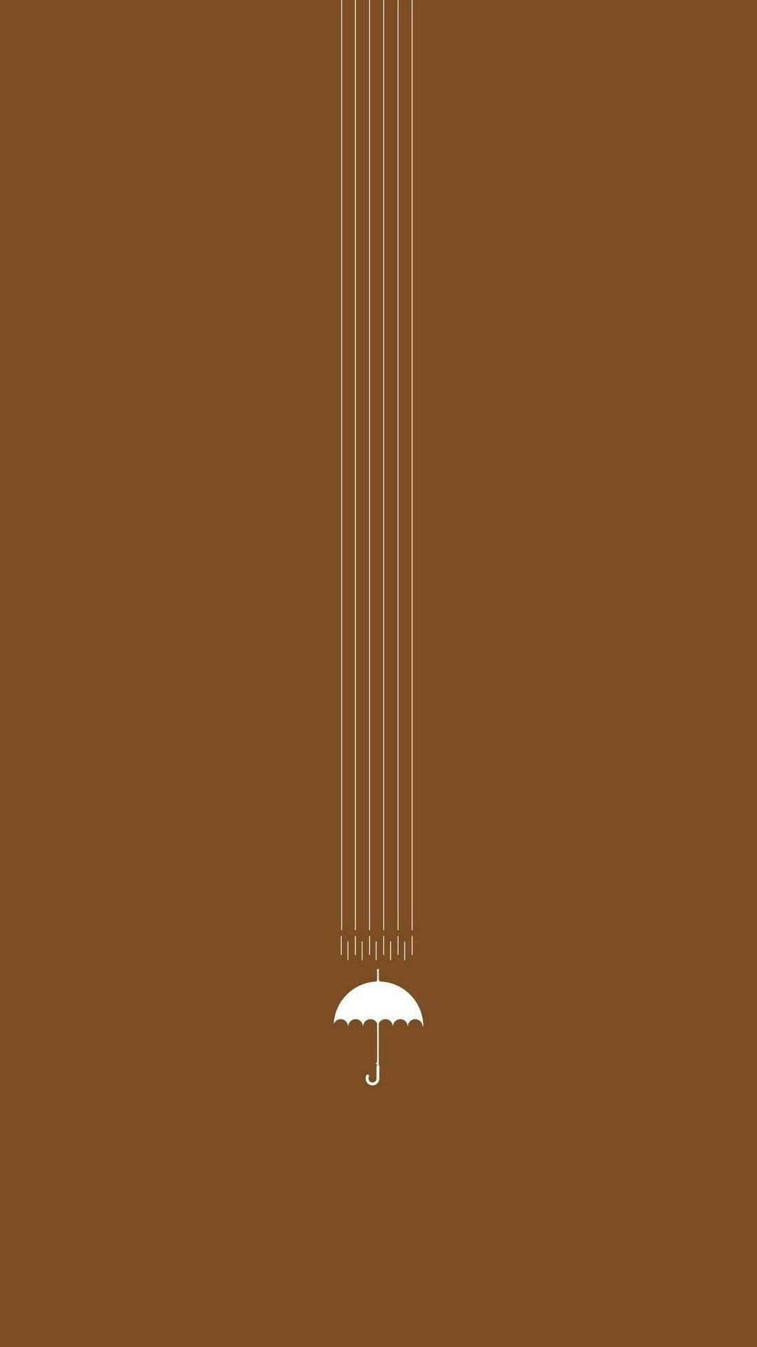 Umbrella Tap To See Minimal Iphone 5 6 Wallpapers Collection