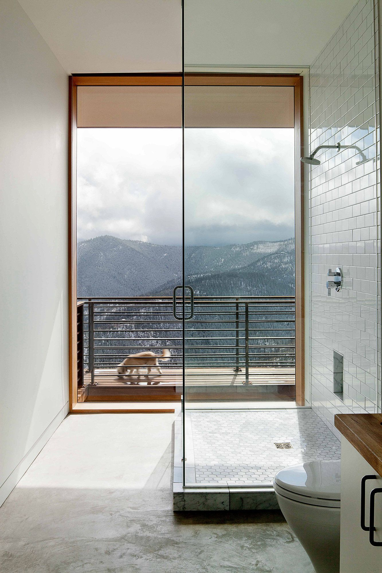Bathroom Design Of Fourmile Sky House   Colorado   Through A Window #window.