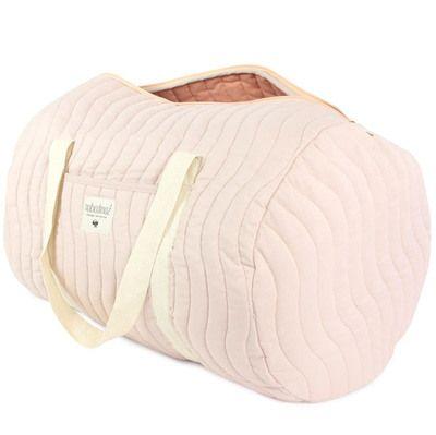 d couvrez notre sac week end ou sac langer matelass los angeles rose pastel coton organique. Black Bedroom Furniture Sets. Home Design Ideas