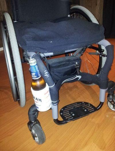 Wheelchair Drink Can Bottle Holder Bottle Holders Wheelchair Diy Drinks
