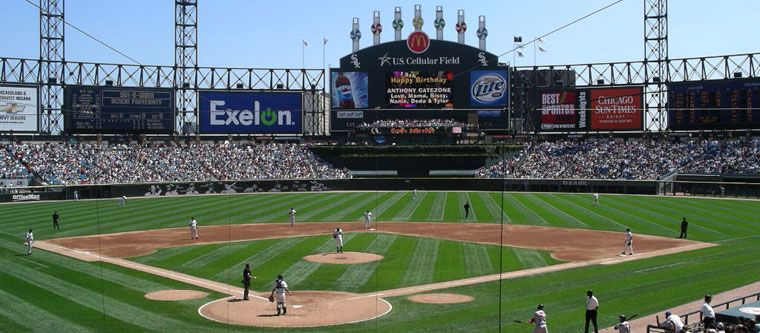 Us Cellular Field Chicago Us Cellular Chicago Baseball Stadium