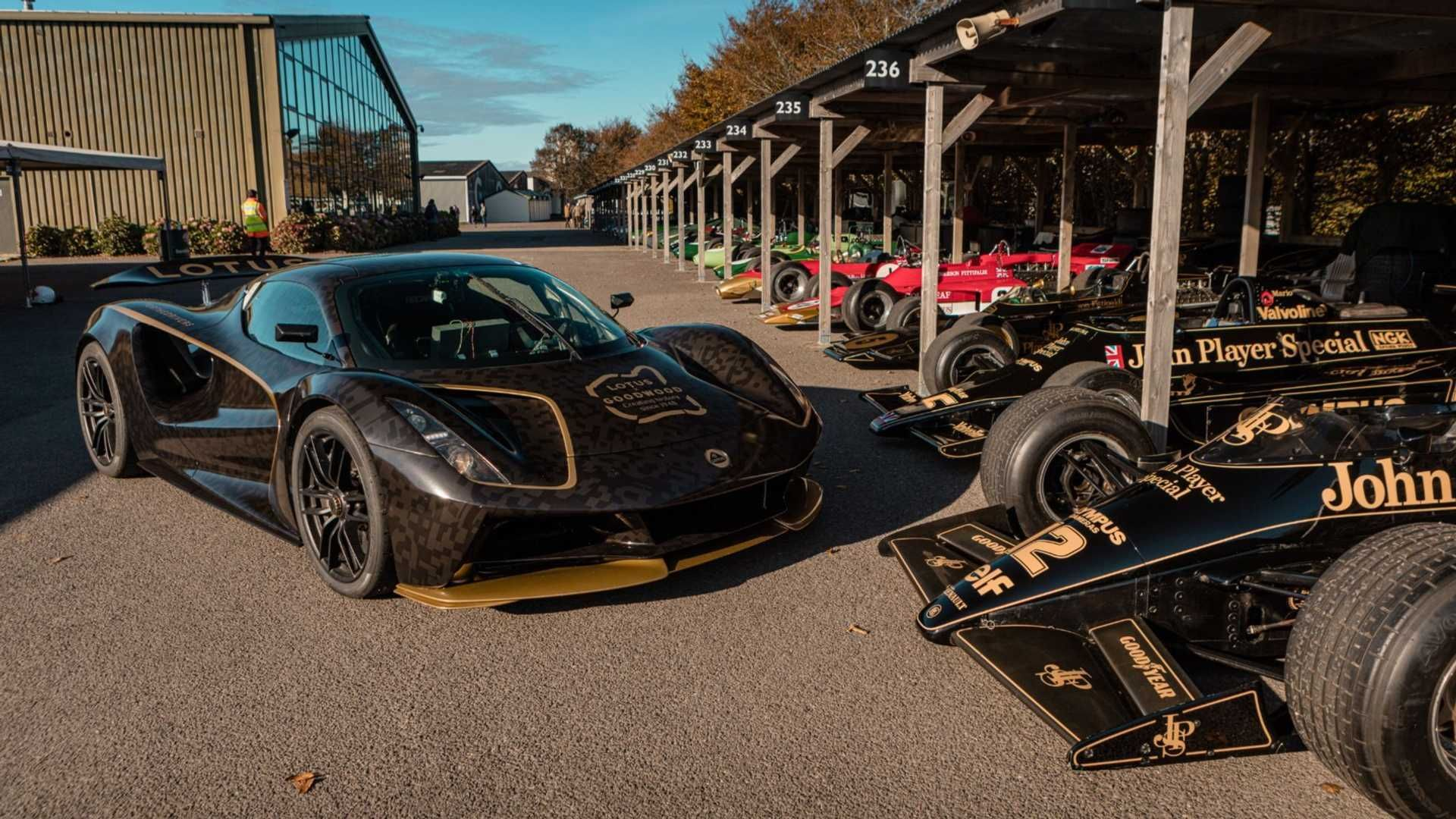 Lotus is using the ongoing Goodwood SpeedWeek event to show off its new Evija electric hypercar. #electriccar #ev