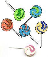 Art Projects for Kids: Lollipop Drawings