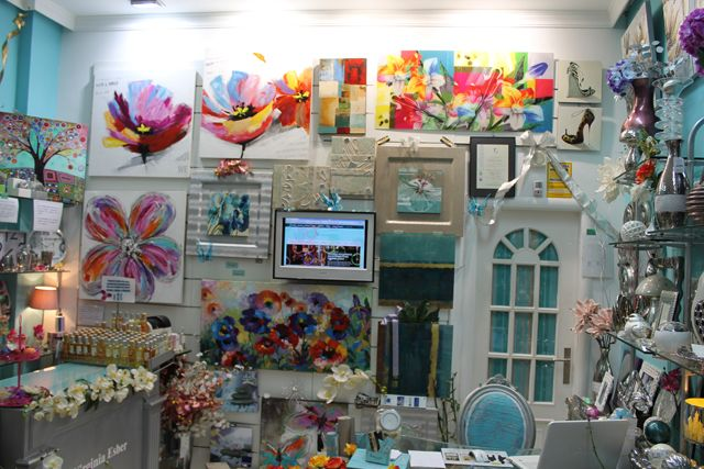 Reforma tienda Virginia Esber. Decoración Málaga